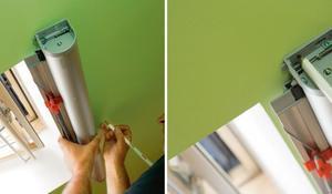 KROK I - Wymierzanie miejsca montażu moskitiery